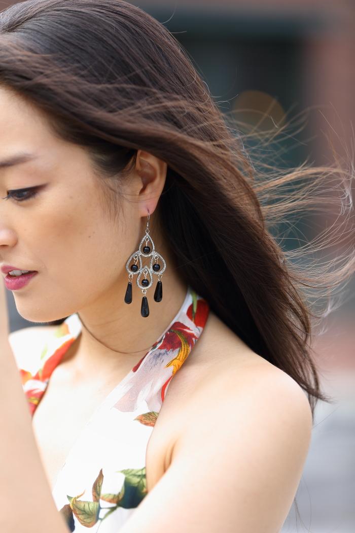stylish statement earrings