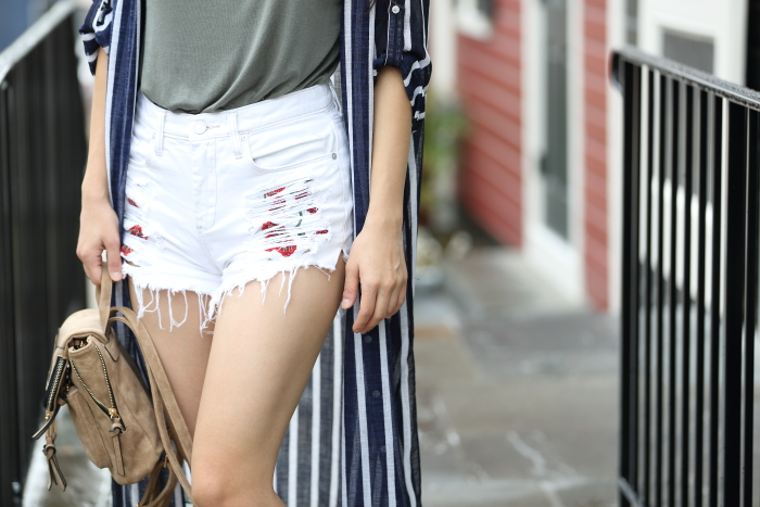 cute embroidered shorts