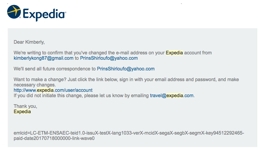Never Use Expedia