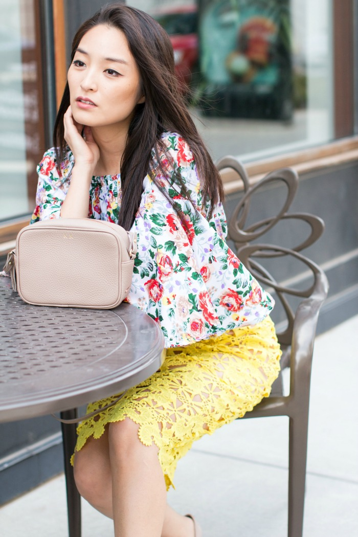 lace pencil skirts