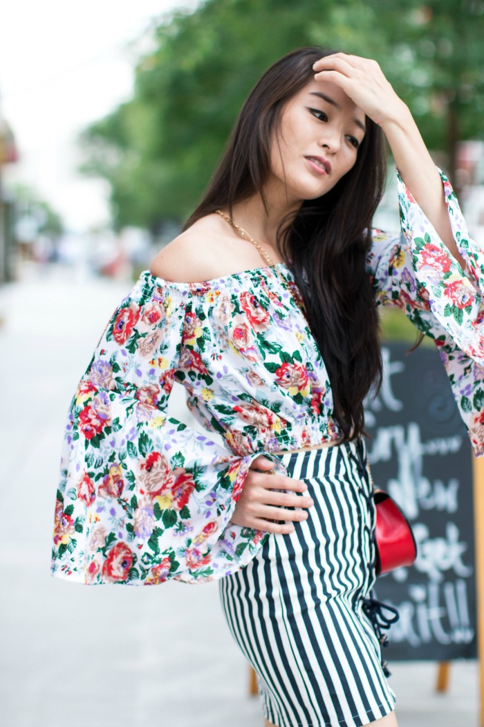Off-the-Shoulder fashion trend
