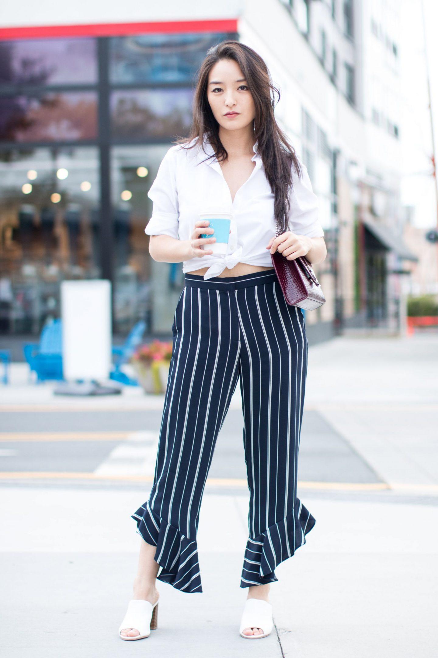 fabulous frill pants