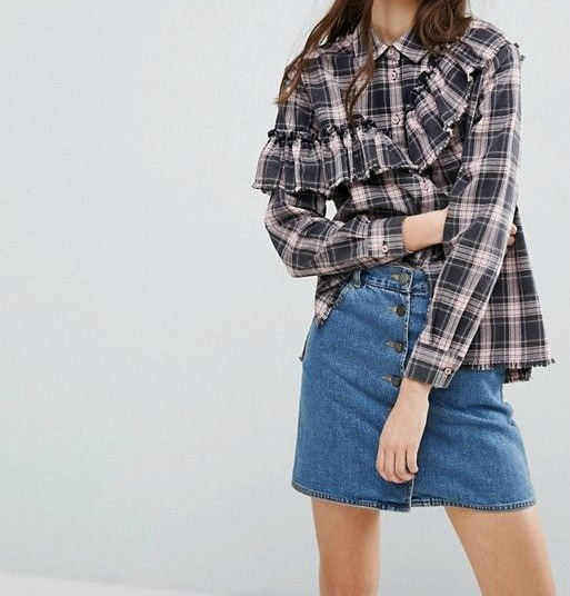 Find of the Day:  The Checkered Shirt ($16)