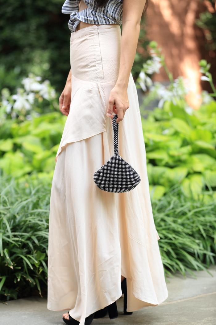 cute blush skirt from asos