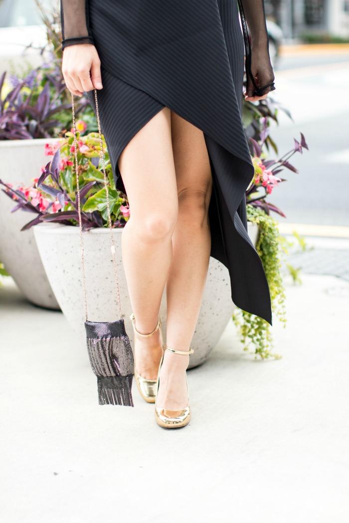 asos drape skirt