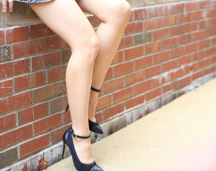 cute mesh heels