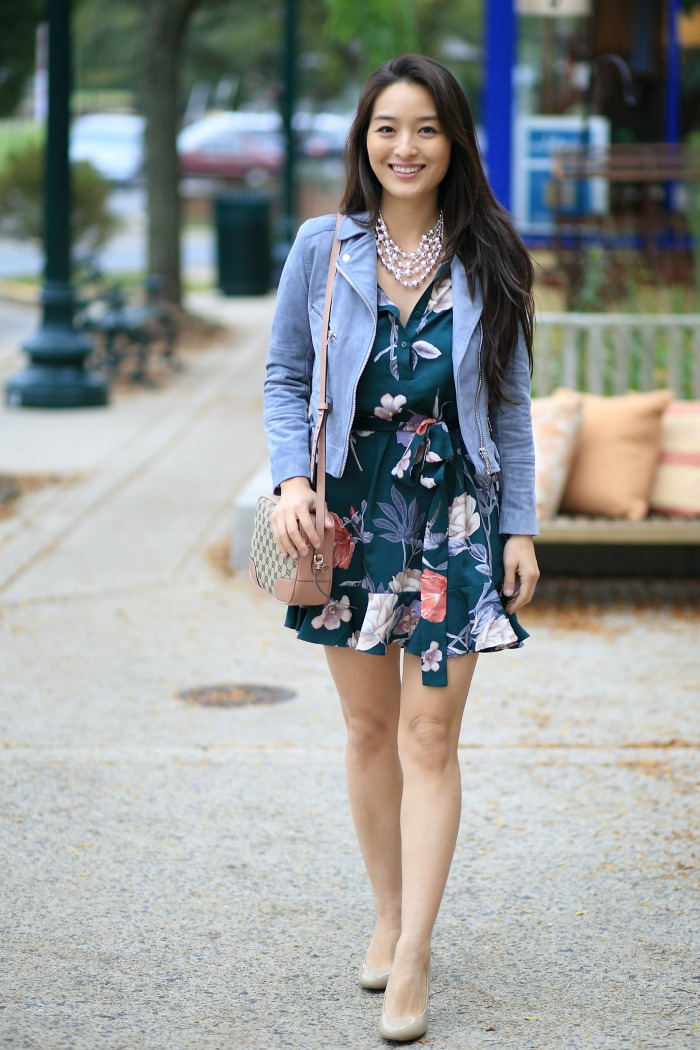 transitioning Summery Dresses to the fall