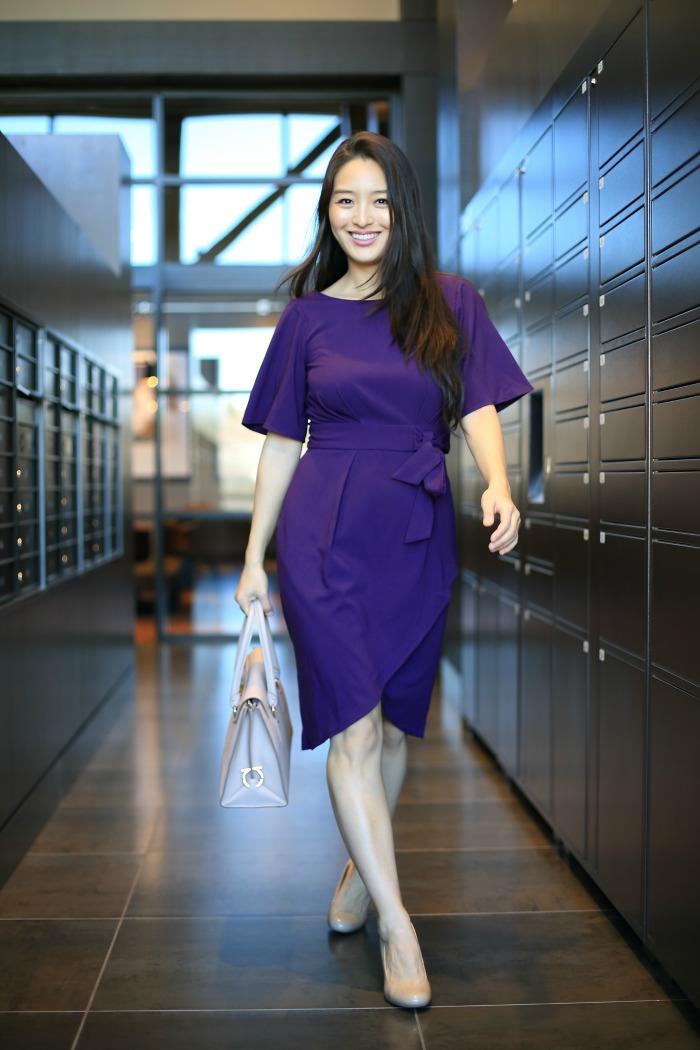 fabulous purple dresses