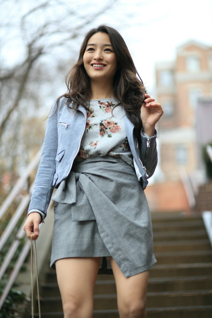 how to wear floral