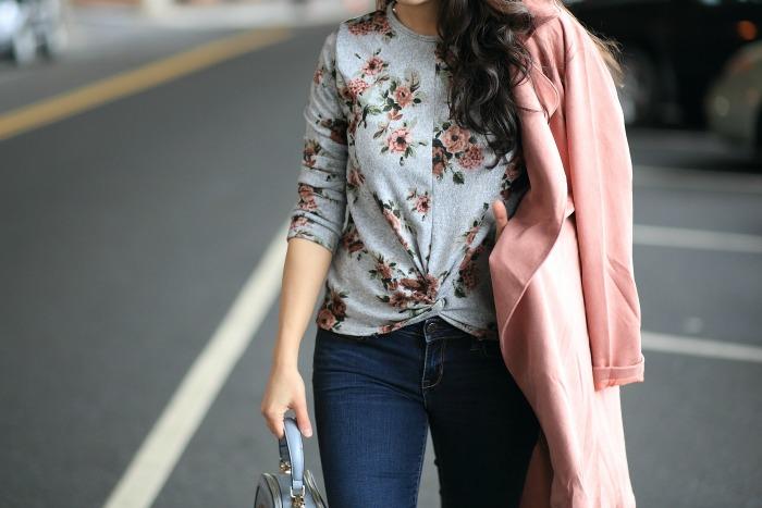 Francesca's floral tops