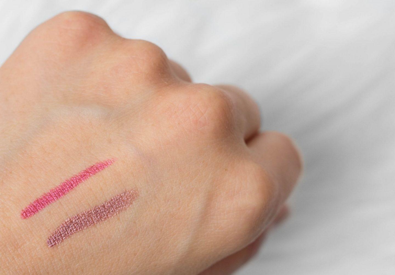 matte metallic lip crayons