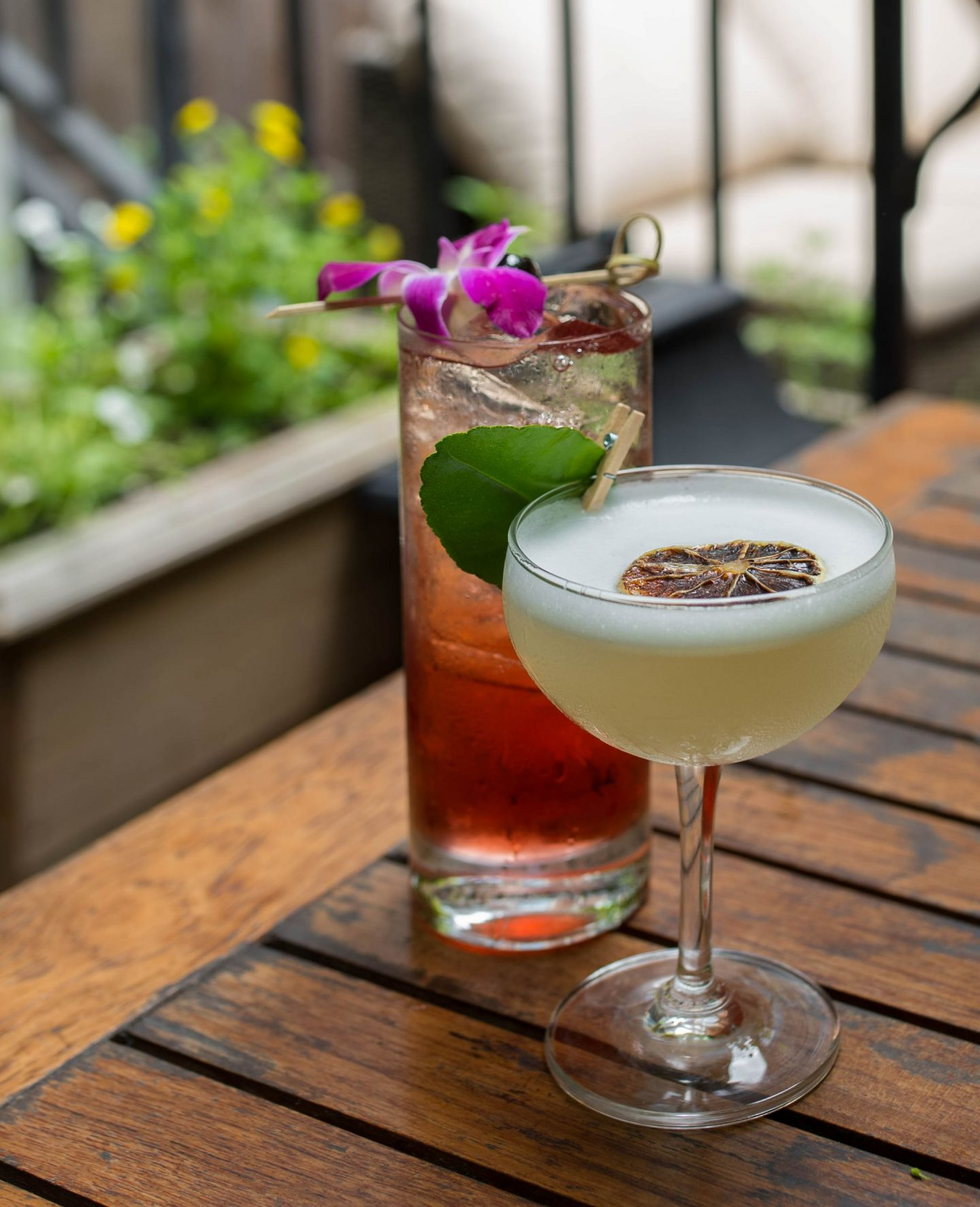 best cocktails at iron gate