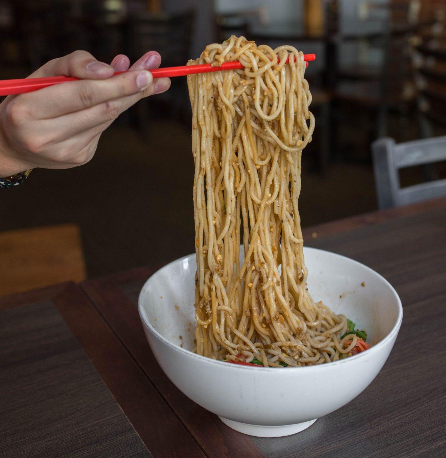 reren lamen and bar dan dan noodles