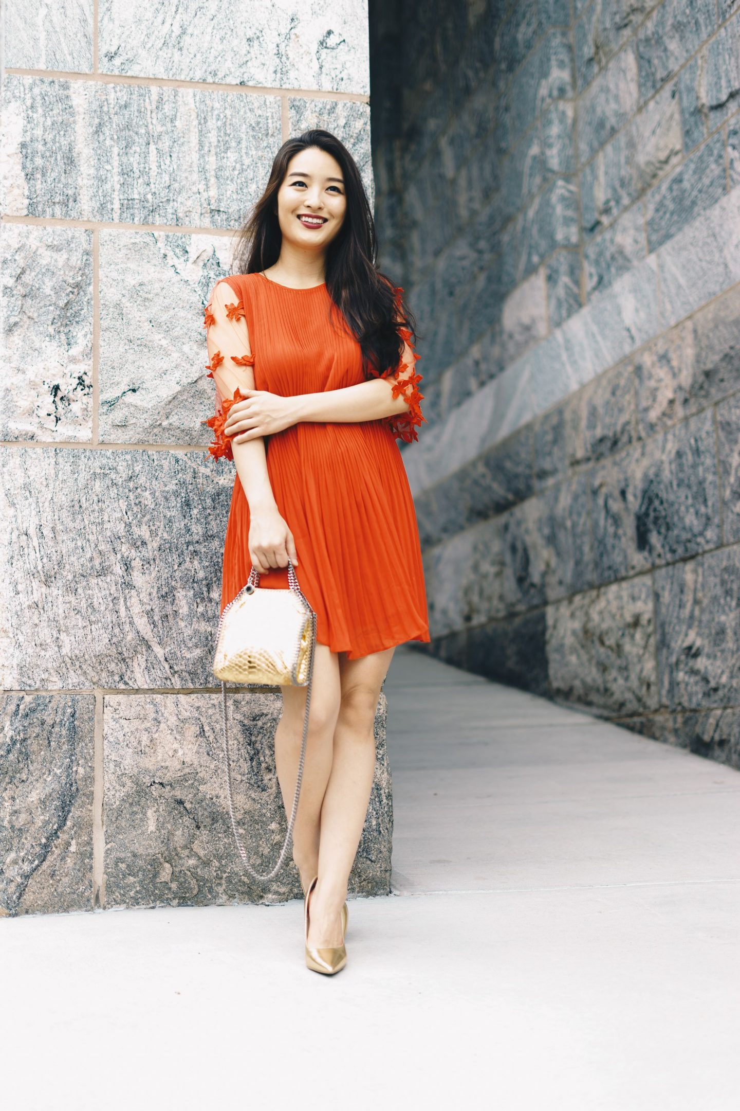 Bella and Bloom Boutique red dress