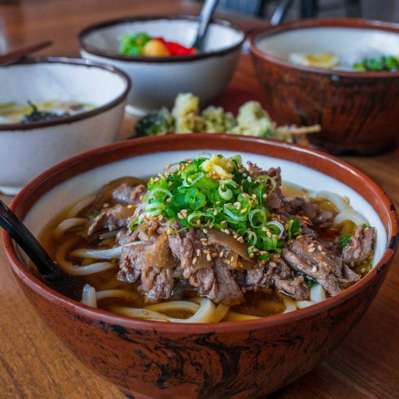 Kagawa-ya Udon bowls in sf