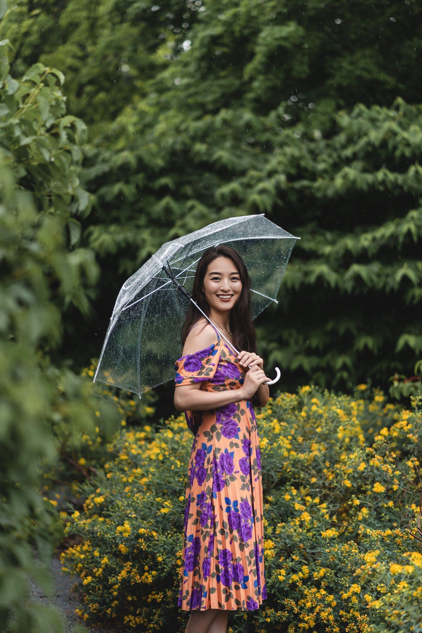 clear umbrella shoot