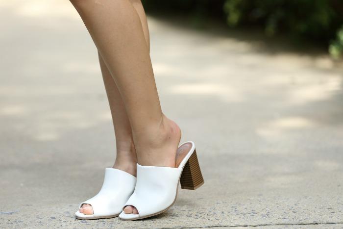 white mules