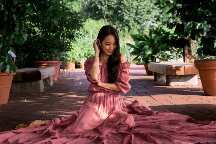 gorgeous blush dress from asos