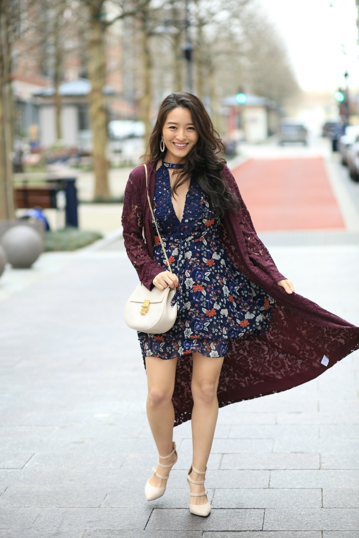 Asos Floral Minidress