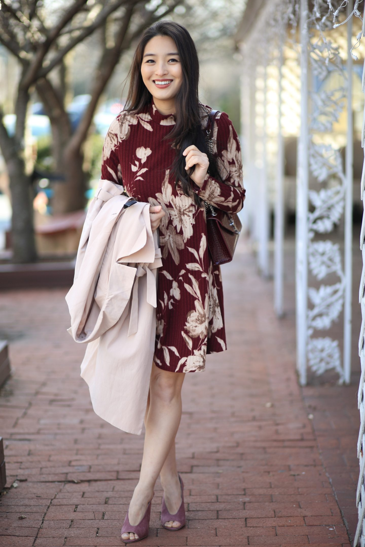 Hailey Raine Boutique floral mini dress
