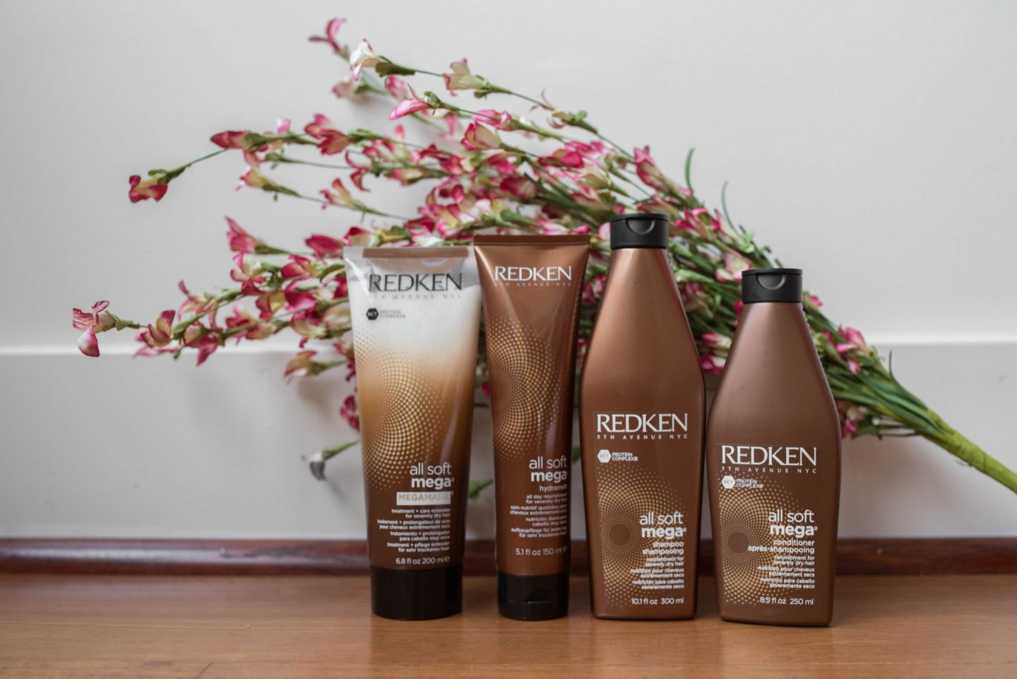 Redken All Soft Mega products