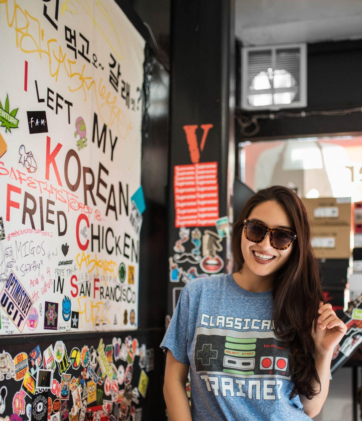 aria korean fried chicken in sf