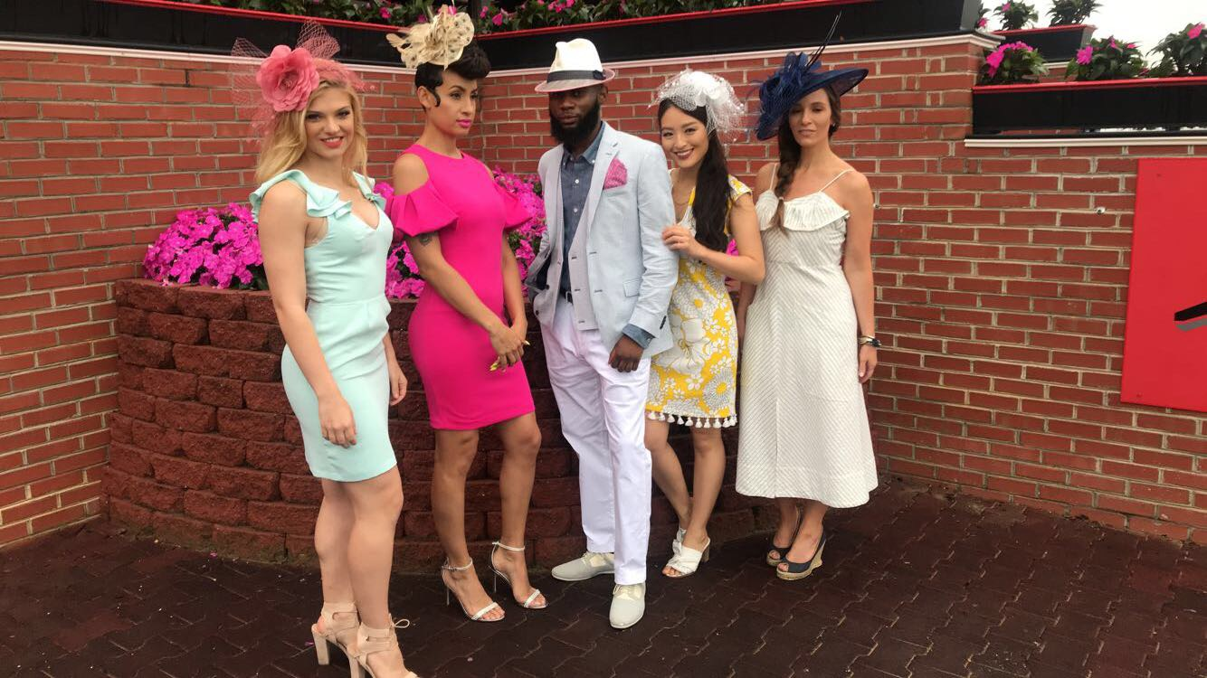 Modeling for Preakness