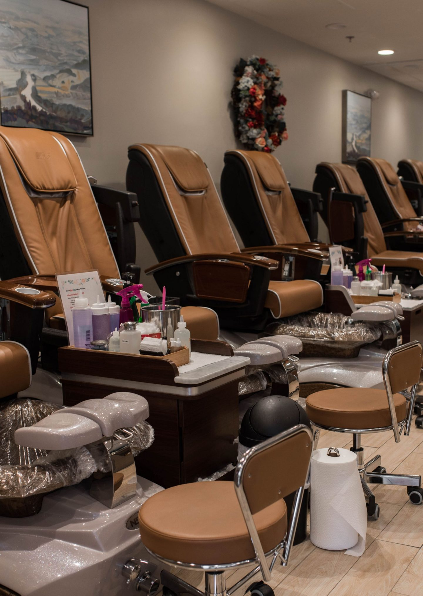 village nail and spa mahwah new jersey