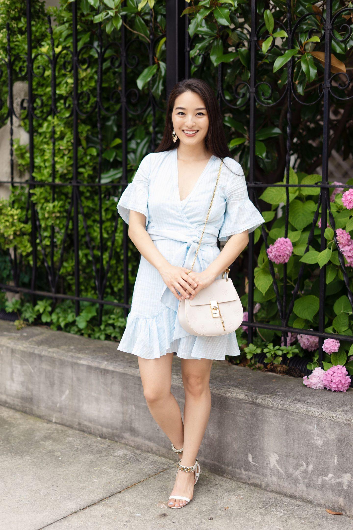 Tanya Taylor blue dress