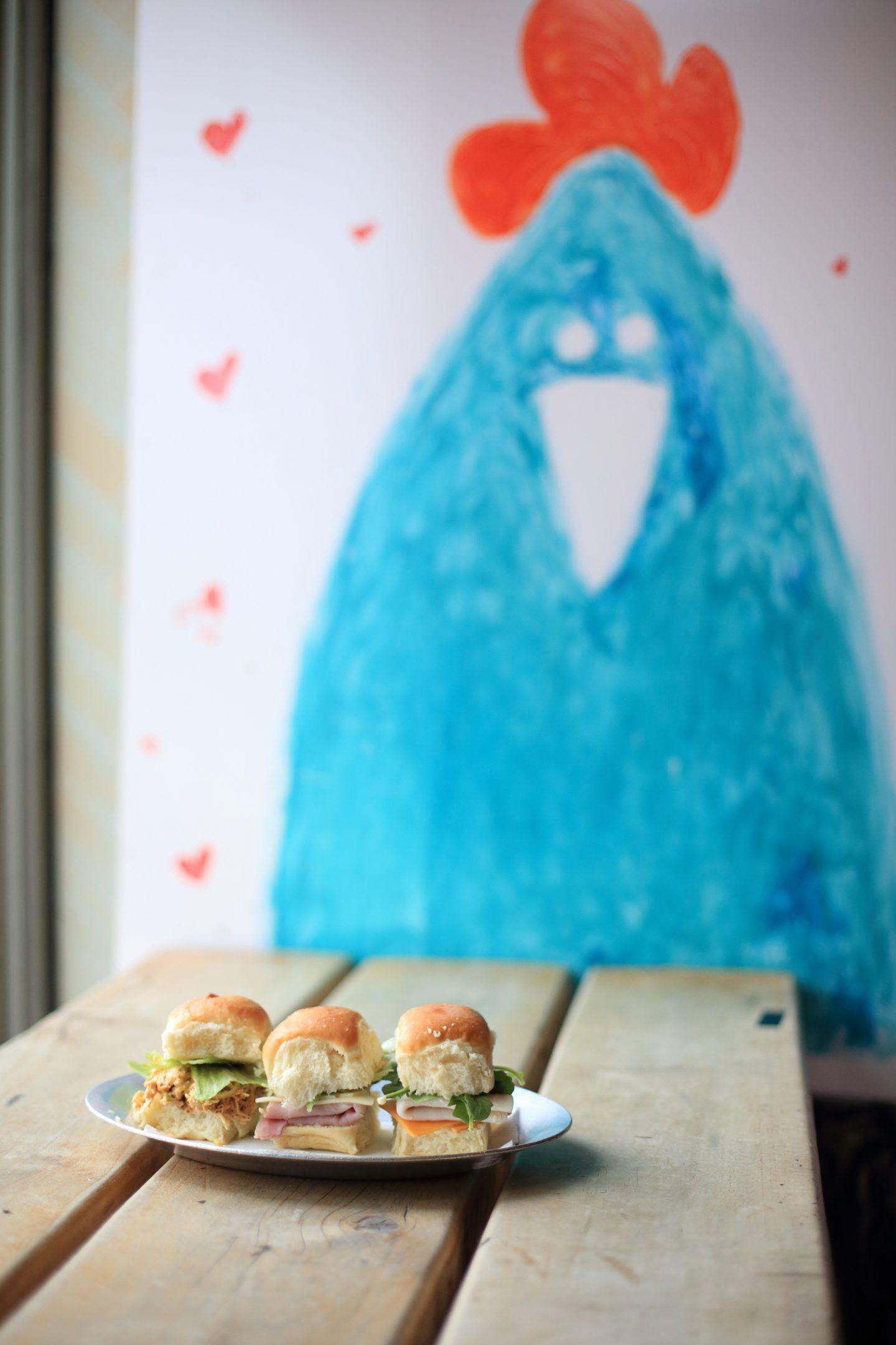 challah sandwiches