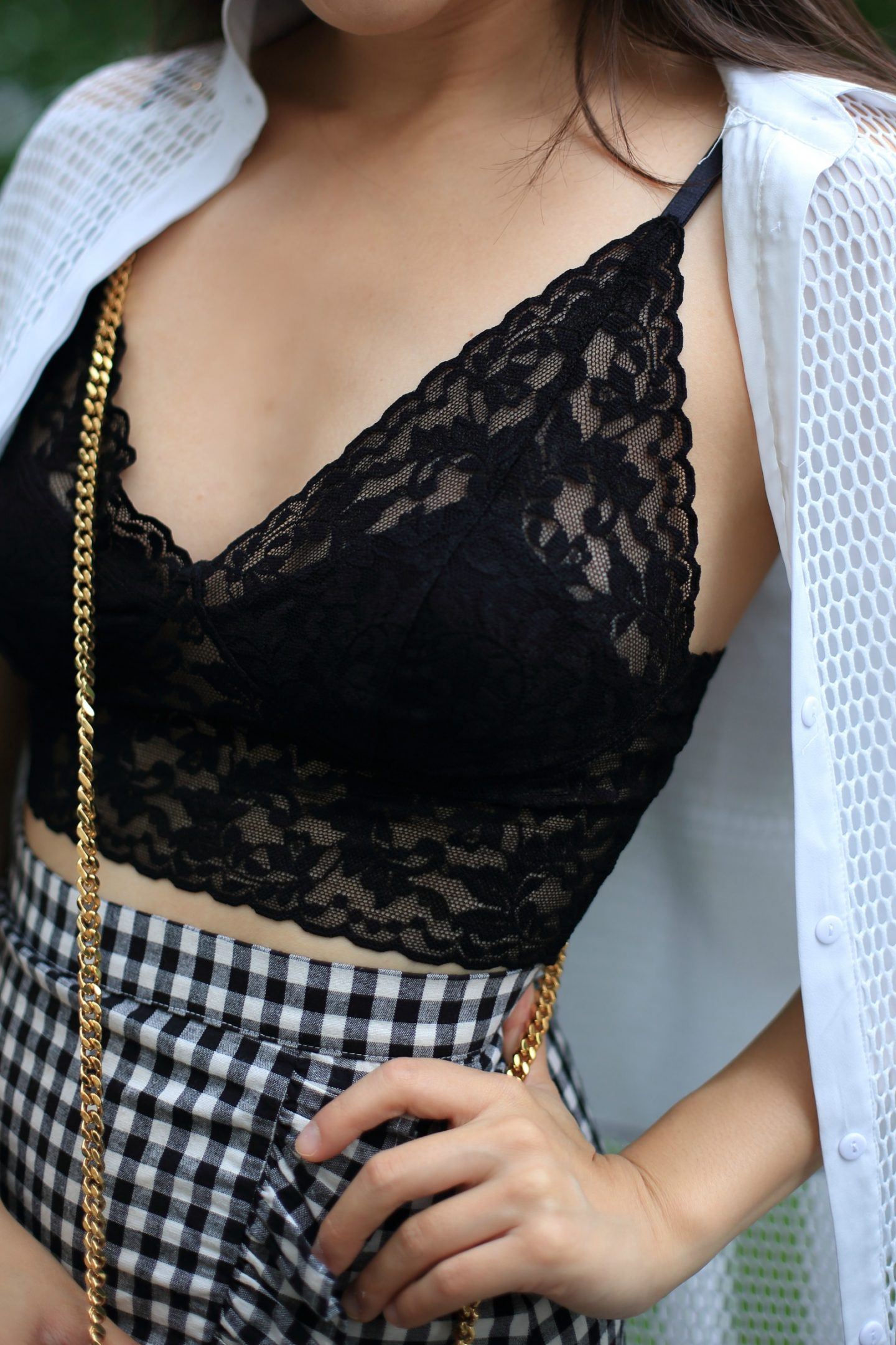 c30219884a The Must-Have Lace Bralette + 10 Ways to Wear - Sensible Stylista
