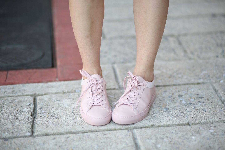 koio blush sneakers