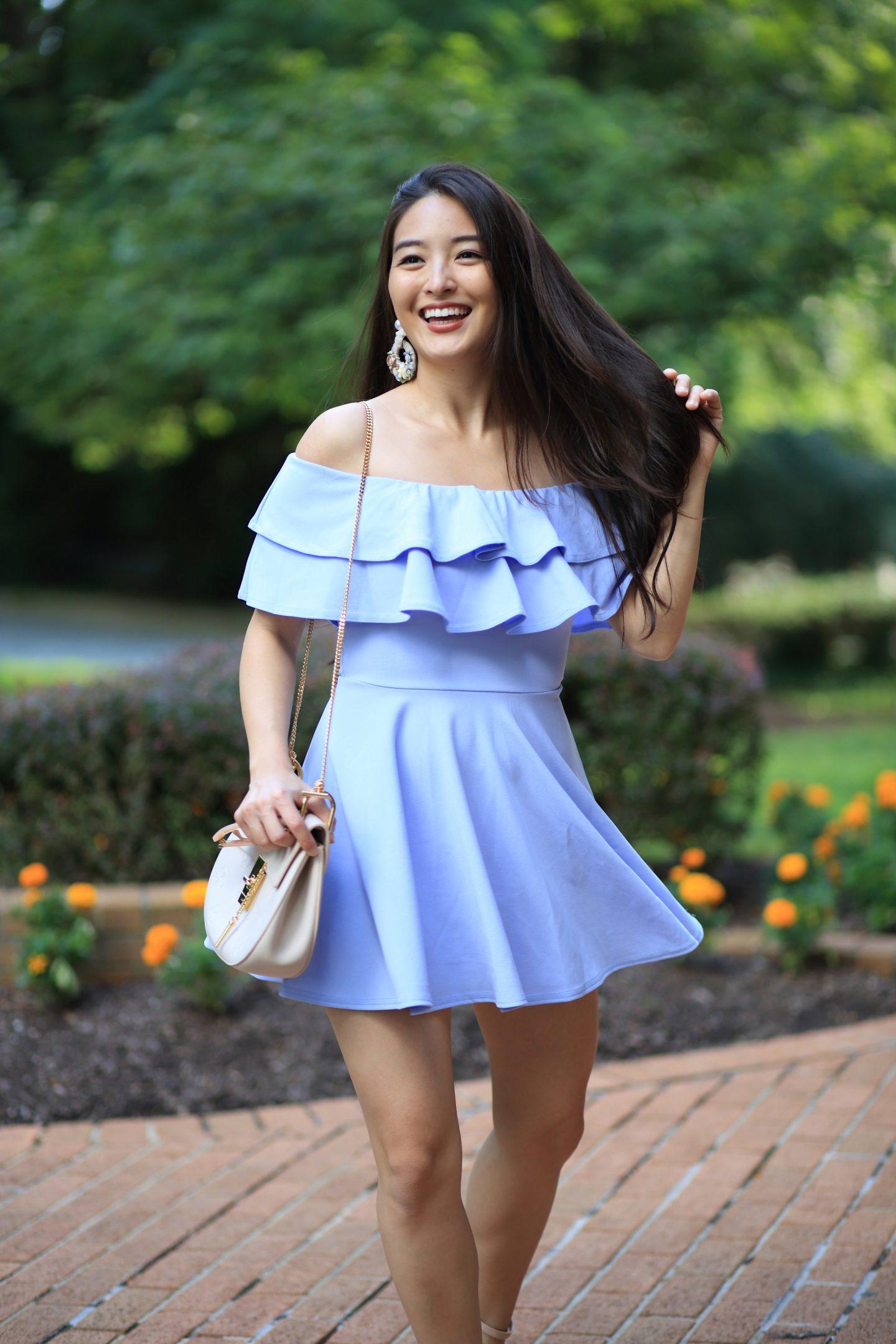 lasula frill dress