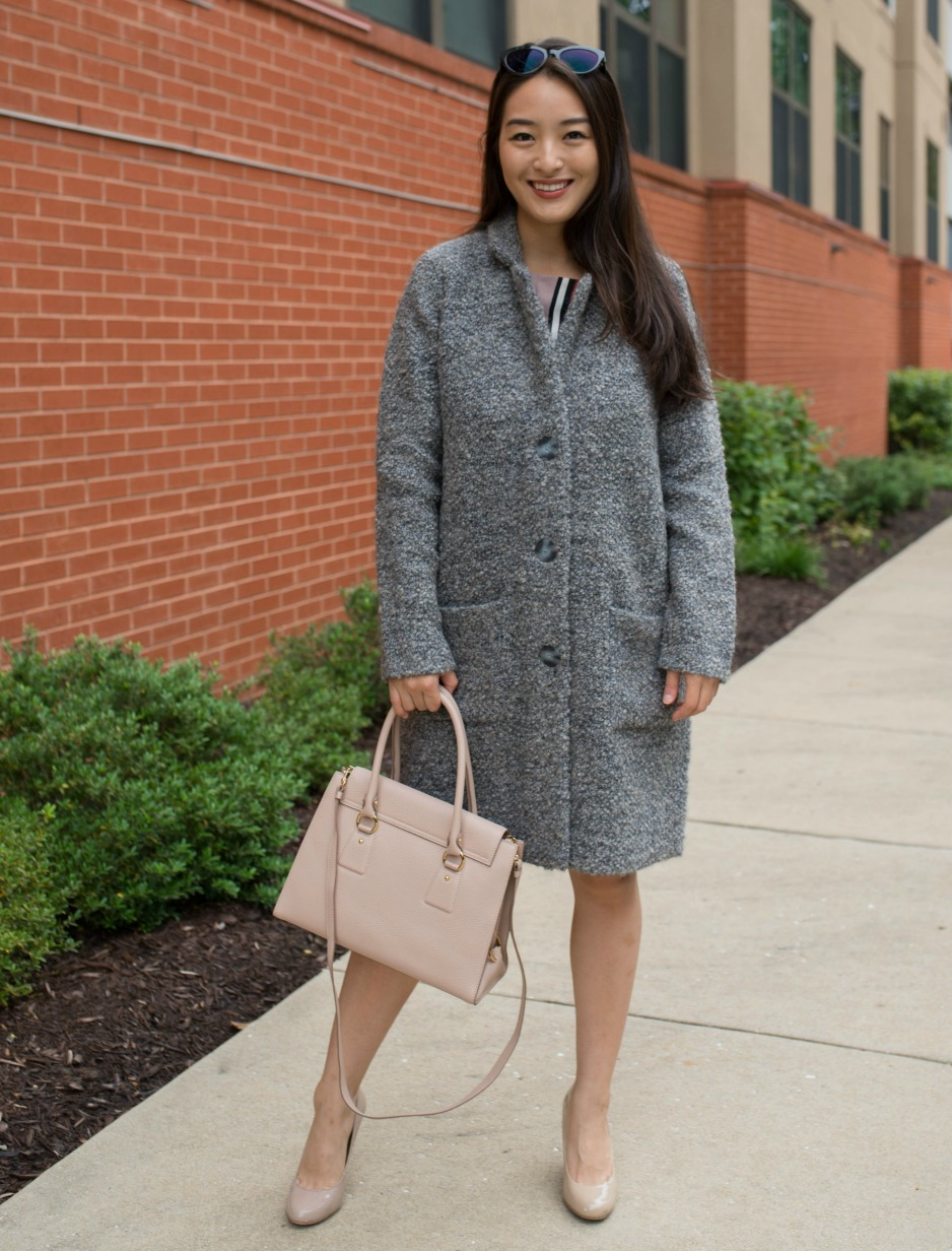 winter coat from repeat cashmere