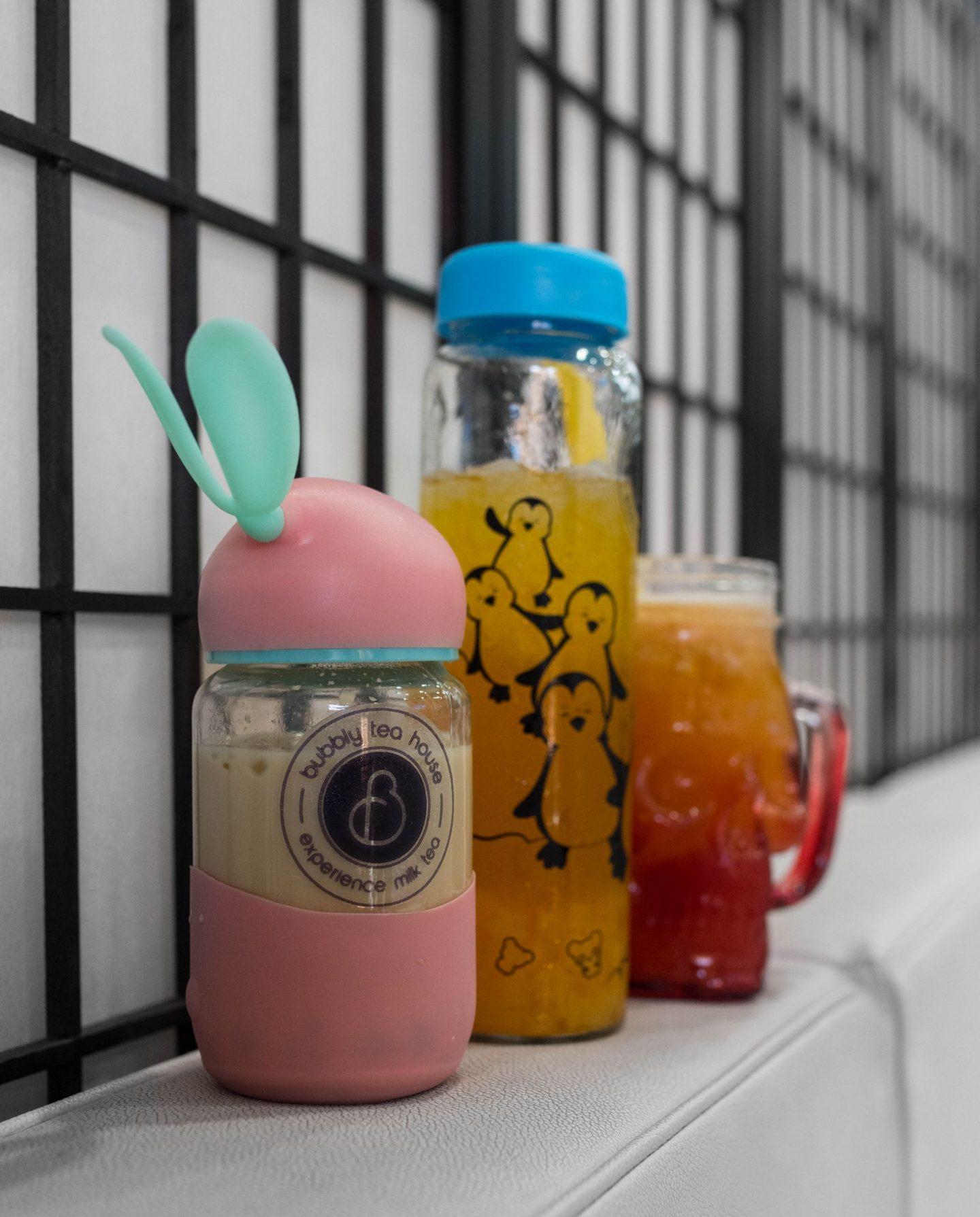 bubbly teahouse drinks