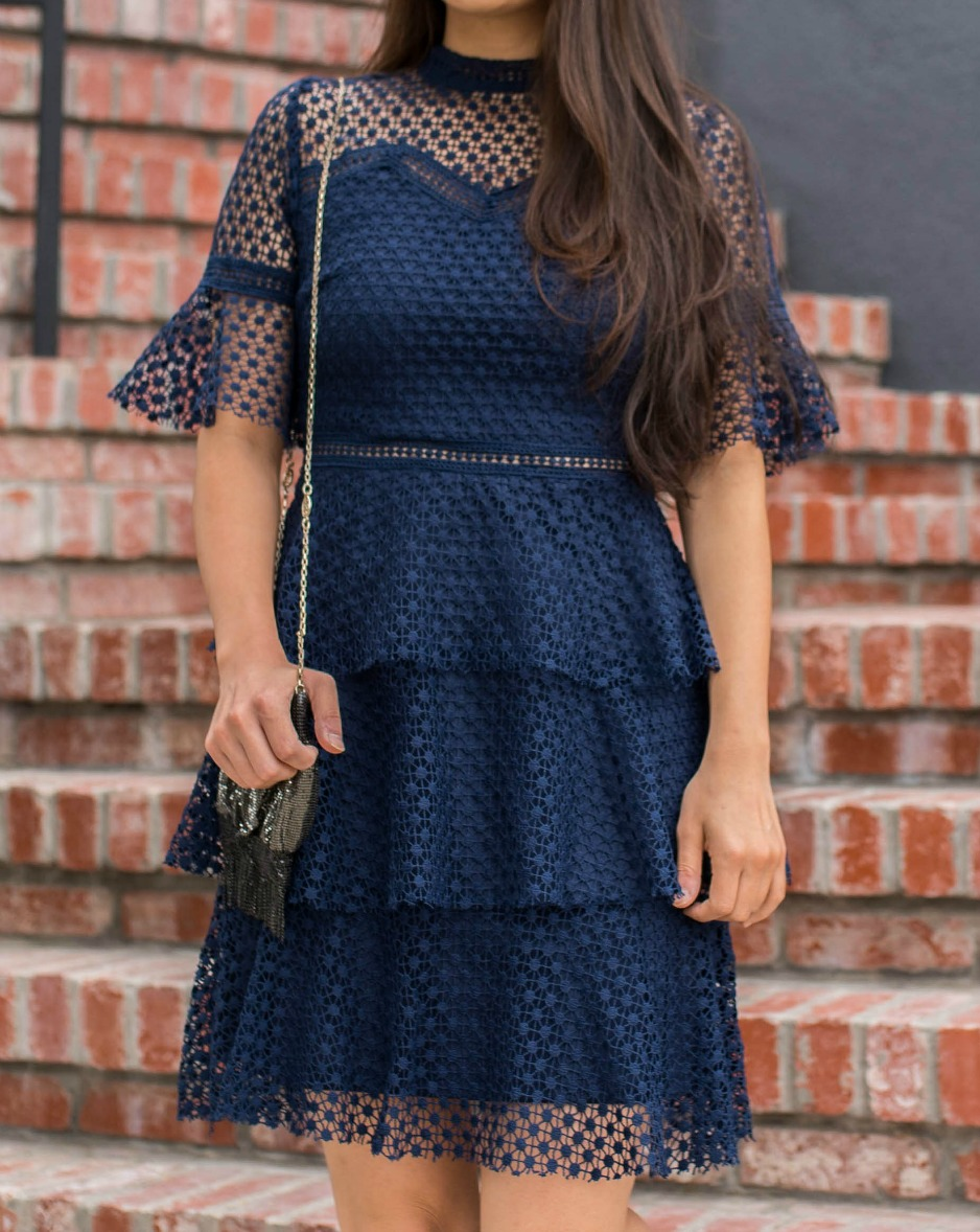 Liquorish navy dress