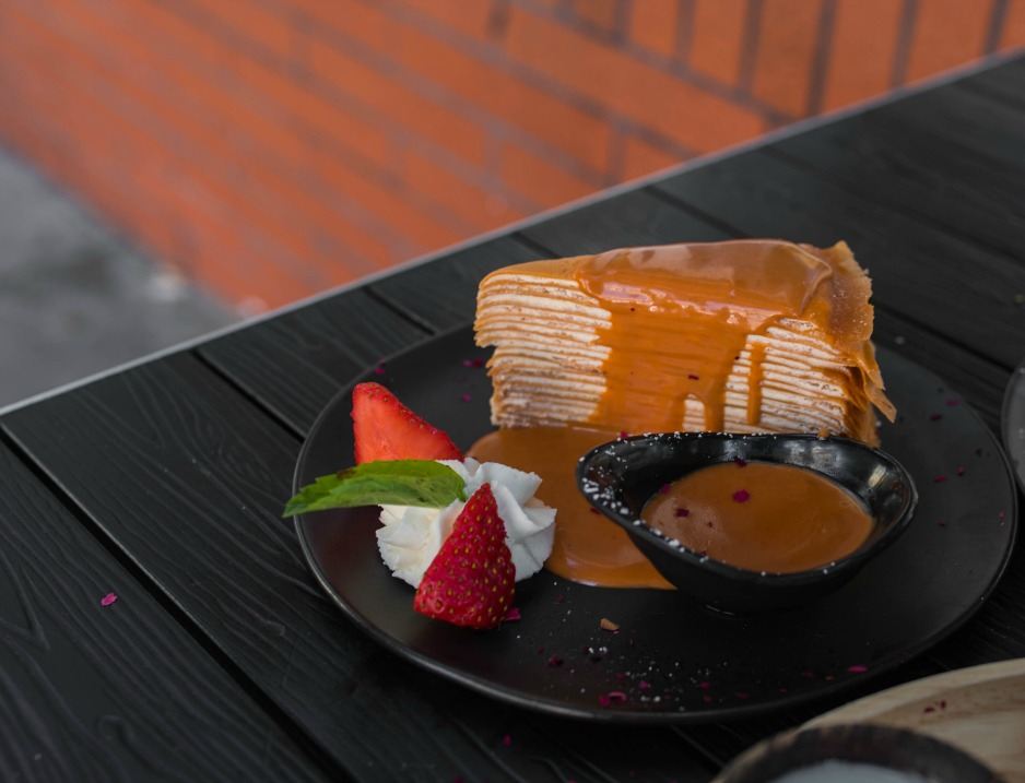 thai tea cake sf