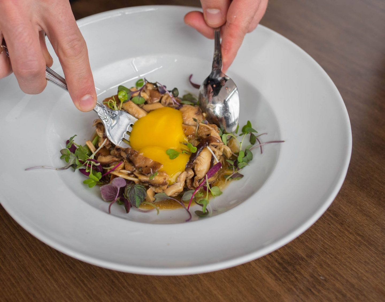 ser mushroom dish