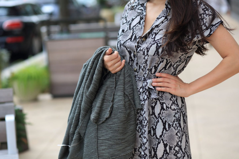snakeskin clothing