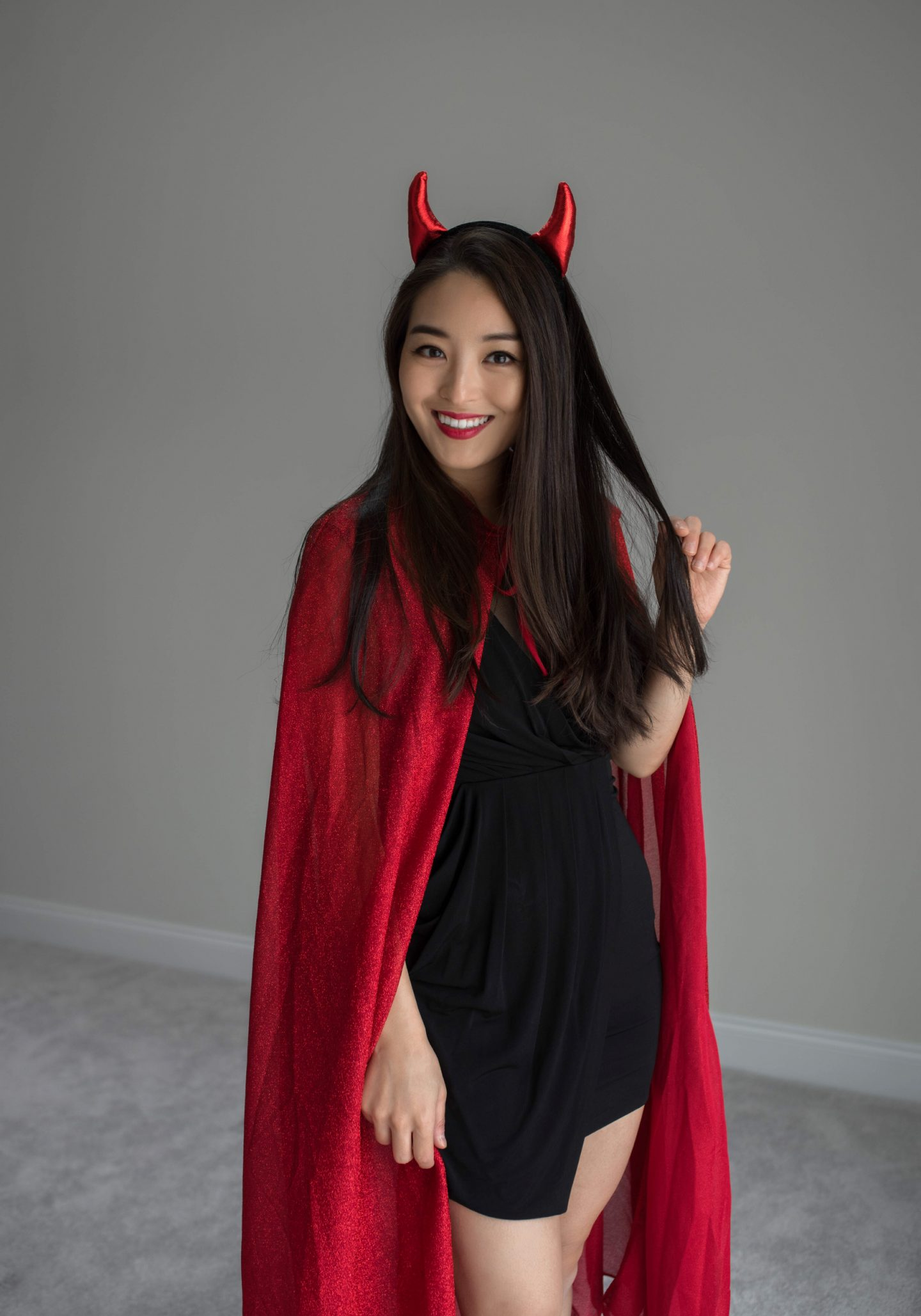 I Decided To Dress Up As A Cute Devil, But I Couldu0027ve Easily Been A  Superhero, A Sorceress, Or A Vampire.