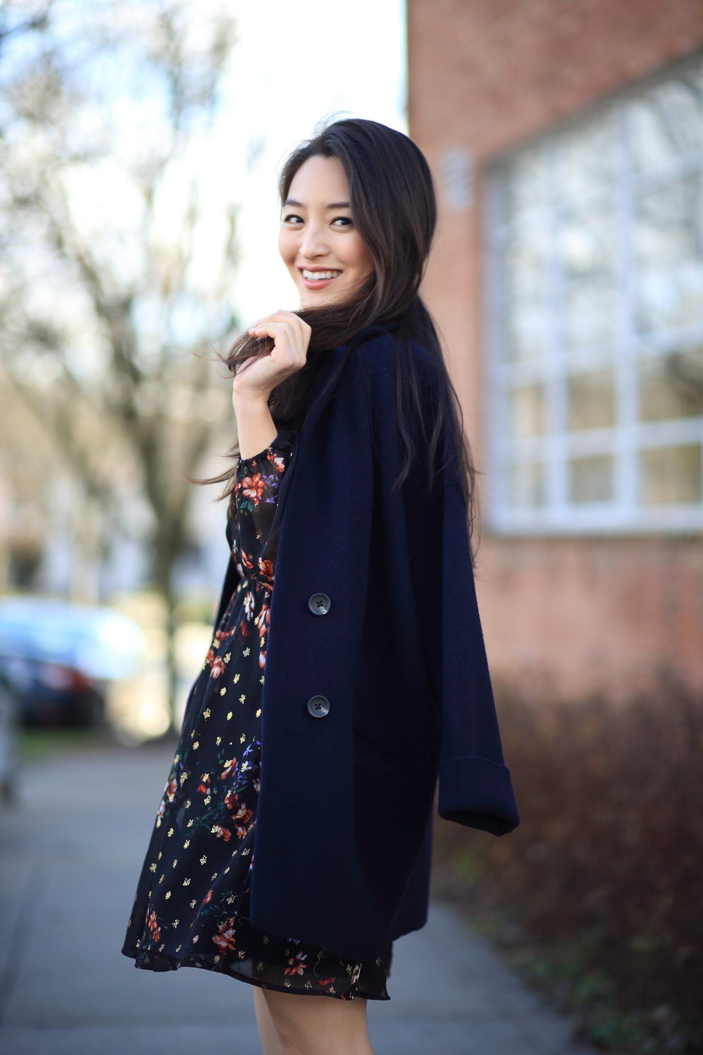 madewell navy jacket