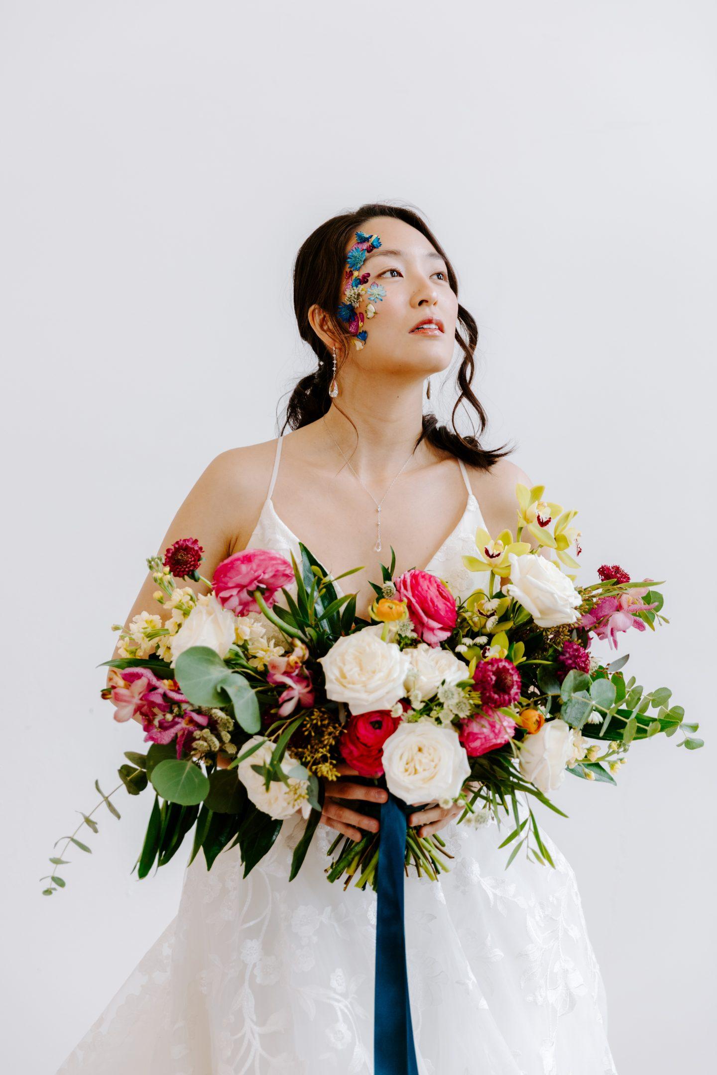 cool wedding makeup