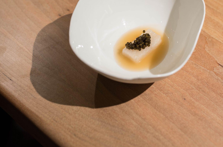 caviar minibar