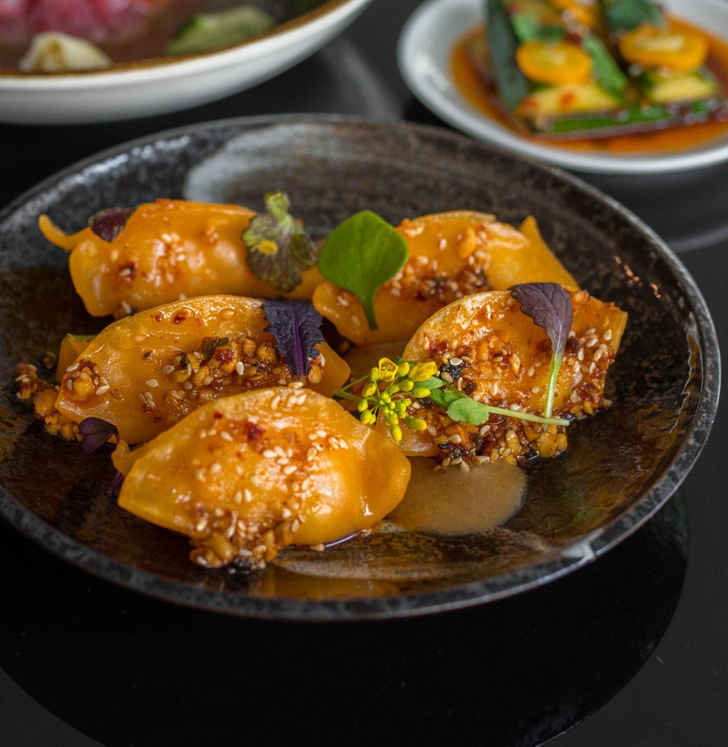 carrot dumplings
