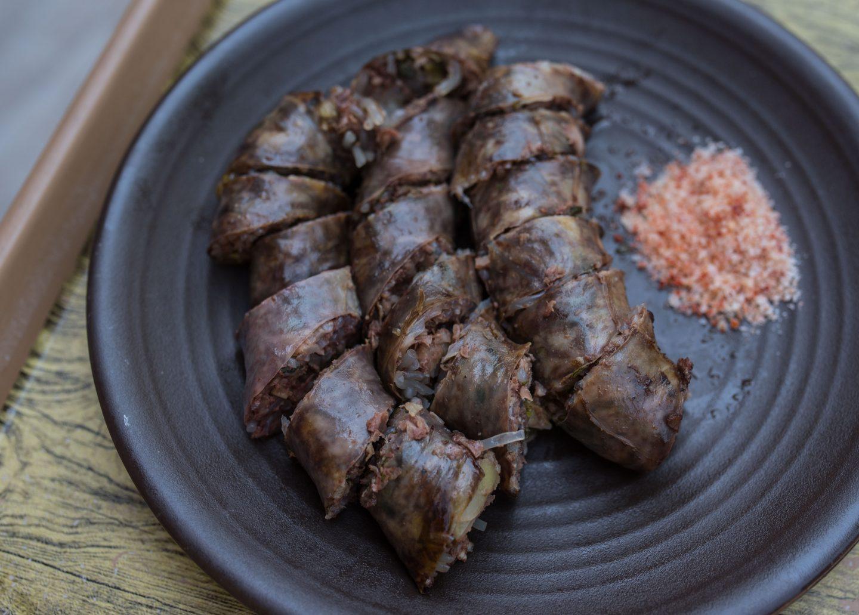 blood sausage minsokchon