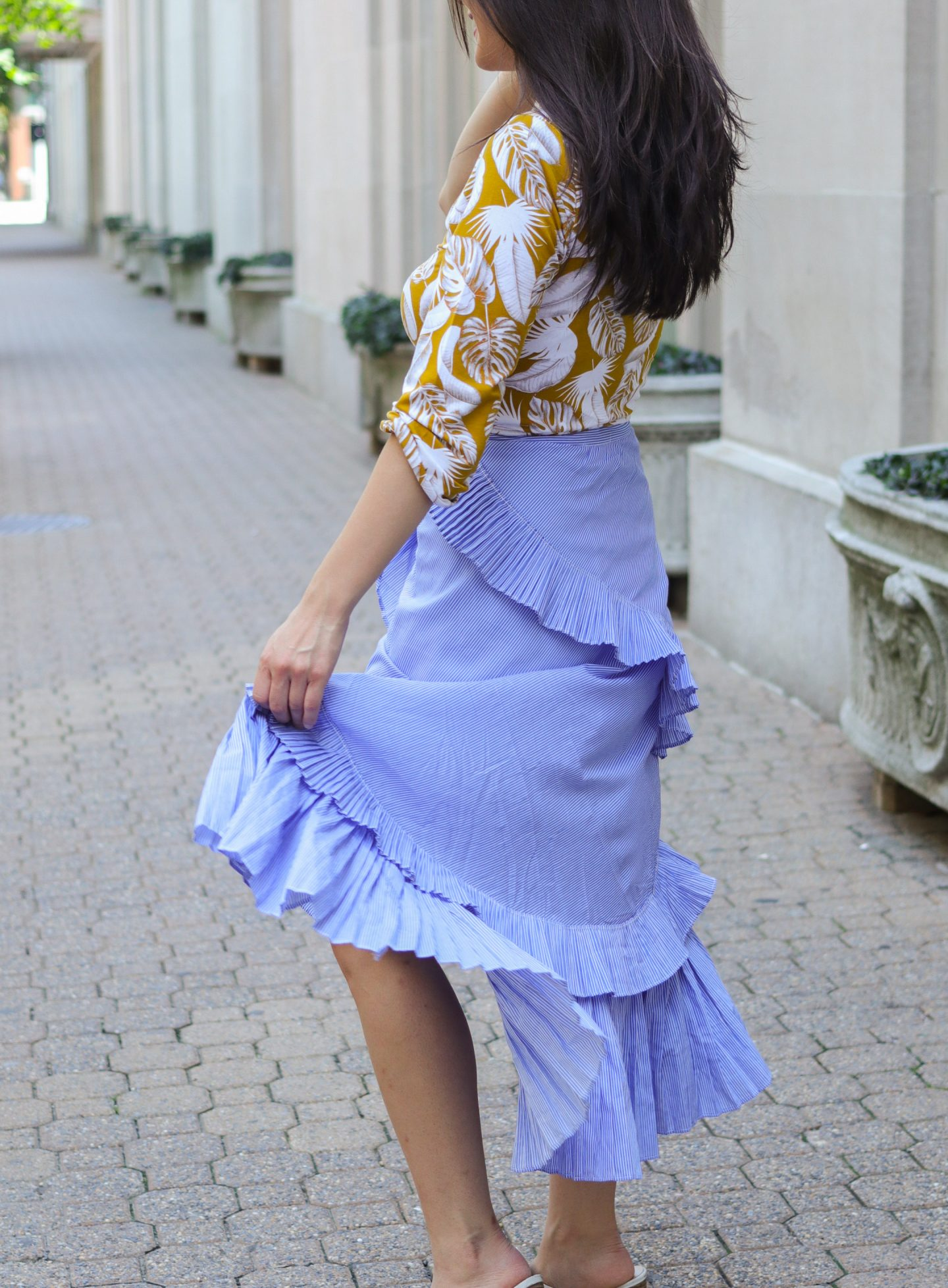 chicwish ruffle skirt