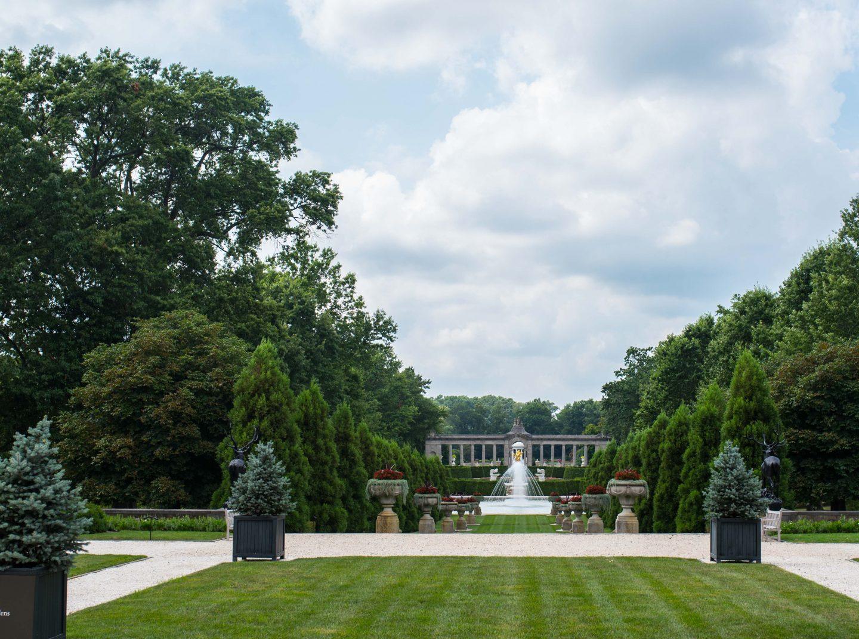 Nemours Estate gardens