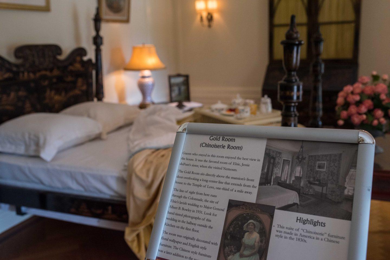 Nemours Estate guest rooms