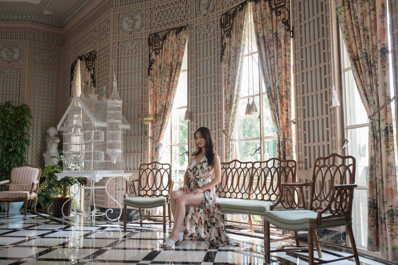 Nemours Estate interior