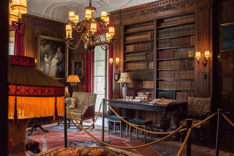 Nemours Estate library